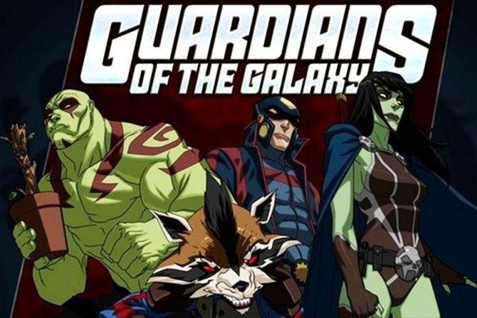 Guardiani della Galassia - Serie Animata