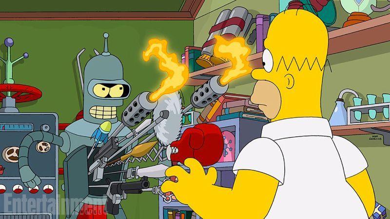 Simpson - Futurama