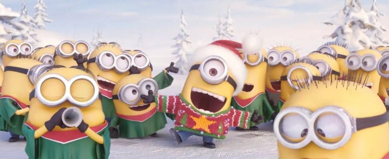 Gli auguri di Buon Natale dei Minions e cinque nuove divertenti clip