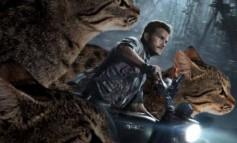 Jurassic Park: gatti al posto di dinosauri in una curiosa galleria