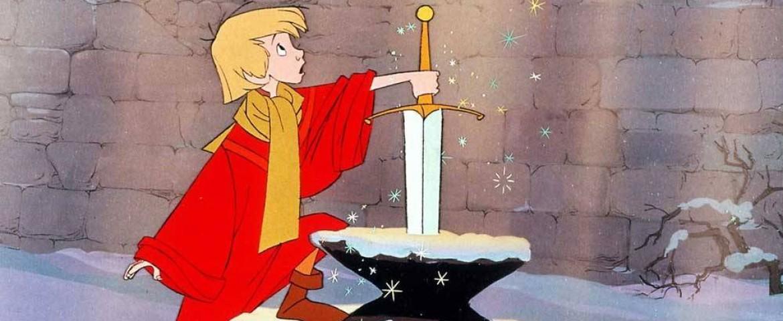 La spada nella roccia disney al lavoro sul film in